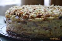 Рецепт Творожный торт на сковороде рецепт с фото