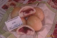 Рецепт Булочки с малиновым вареньем рецепт с фото