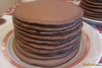 Рецепт Шоколадные панкейки рецепт с фото
