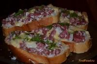 Рецепт Горячие бутерброды рецепт с фото