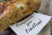 Рецепт Домашний пирог с абрикосами рецепт с фото