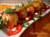Рецепт Гарнирные шарики с цветной капустой рецепт с фото