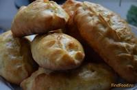 Рецепт Домашние пирожки с рисом вареными яйцами и зеленью рецепт с фото