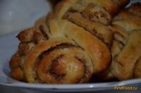 Рецепт Булочки с корицей и сахаром рецепт с фото
