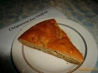 Рецепт Быстрый яблочный пирог рецепт с фото