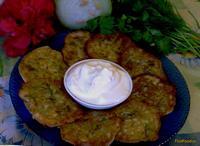 Рецепт Кабачковые оладушки на кефире рецепт с фото