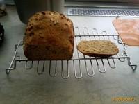 Рецепт Гречневый хлеб с медом и семечками в хлебопечке рецепт с фото
