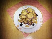 Рецепт Печенье с ежевичным кремом рецепт с фото