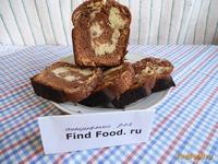 Рецепт Кекс полосатик рецепт с фото