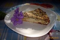 Рецепт Запеканка творожная с изюмом шоколадом и маковым штрейзелем рецепт с фото