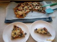 Рецепт Овощная пицца по-домашнему рецепт с фото