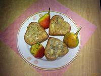 Рецепт Кексы грушевые рецепт с фото