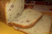 Рецепт Хлеб с копчеными колбасками сыром и чесноком рецепт с фото