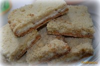 Рецепт Печенье насыпное с творогом и грушей рецепт с фото
