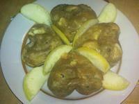 Рецепт Чайные кексы с яблоками рецепт с фото
