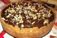Рецепт Ореховый чизкейк с шоколадным ганашем рецепт с фото