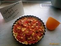 Рецепт Пирог с луком и помидорами рецепт с фото