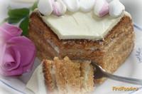 Рецепт Торт Медовый со сметанно сливочным кремом рецепт с фото
