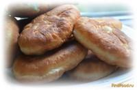 Рецепт Пирожки жареные с тушеной капустой рецепт с фото
