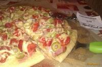 Рецепт Пицца с копченой грудинкой рецепт с фото