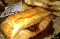 Рецепт Слойки с малиновым вареньем рецепт с фото