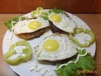Рецепт Украинские колдуны или драники с начинкой и яйцом рецепт с фото
