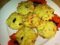 Рецепт Кексы по-английски с сухофруктами рецепт с фото