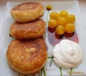 Рецепт Пончики творожные с фаршем рецепт с фото