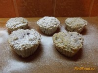 Рецепт Нежные кексы из овсяных хлопьев рецепт с фото