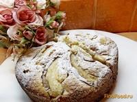 Рецепт Чайный пирог с яблоками рецепт с фото