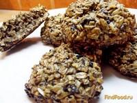 Рецепт Грубое овсяное печенье рецепт с фото