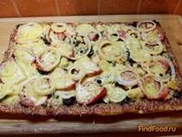 Рецепт Пицца с морепродуктами рецепт с фото