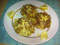 Рецепт Лимонные кексы с маком рецепт с фото
