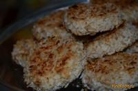 Рецепт Печенье творожно банановое в кокосовой стружке рецепт с фото