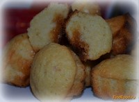 Рецепт Кексы кис-кис с конфетой ириской рецепт с фото
