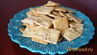 Рецепт Кукурузное несладкое печенье рецепт с фото