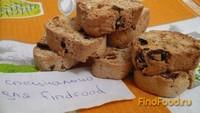 Рецепт Бискотти с орехами и изюмом рецепт с фото