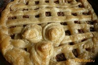 Рецепт Пирог с мясным фаршем рецепт с фото