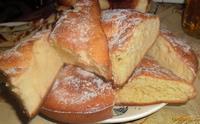Рецепт Ванильный кекс с сахарной пудрой на каждый день рецепт с фото
