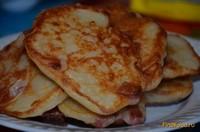 Рецепт Оладьи с колбасным припеком рецепт с фото