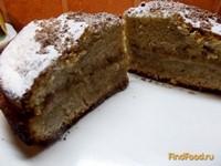 Рецепт Кофейный пирог с масляным кремом рецепт с фото