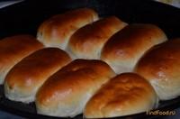 Рецепт Пирожки дрожжевые с капустой методом лепки распиливание рецепт с фото