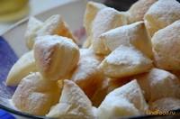 Рецепт Бантики слоеные в сахарной пудре рецепт с фото