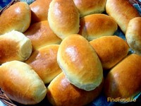 Рецепт Дрожжевые пирожки с капустой и яйцом рецепт с фото
