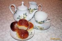 Рецепт Булочки малышки с карамелькой рецепт с фото