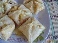 Рецепт Медовые слойки с творогом рецепт с фото