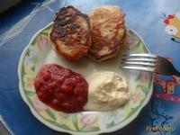 Рецепт Оладьи с яблоками без яиц рецепт с фото