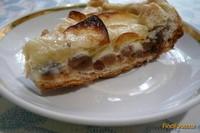 Рецепт Пирог из слоеного теста с яблоками и изюмом рецепт с фото