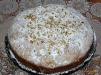 Рецепт Яблочный пирог с грецкими орехами рецепт с фото