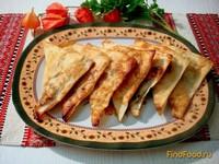 Рецепт Пирожки из лаваша с картофелем и грибами рецепт с фото